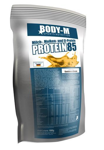 BODY M Protein 85 - BODY-M Sportnahrung Kaiserslautern