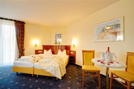 Deluxe Doppelzimmer mit Romantikdeko