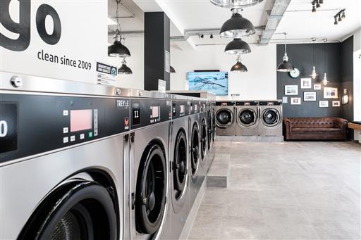 Firmengebäude Wash&Go SB-Waschsalon